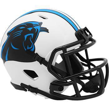 NFL Carolina Panthers Lunar Eclipse Mini Helmet
