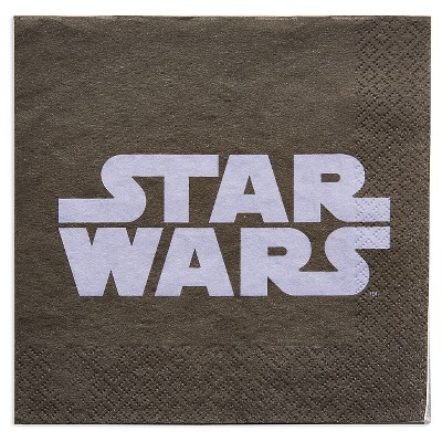 16ct Star Wars Party Paper Napkins
