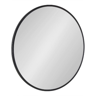 Caskill Round Framed Decorative Wall Mirror - Kate & Laurel All Things Decor
