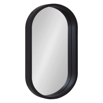 Travis Oval Wall Mirror - Kate & Laurel All Things Decor