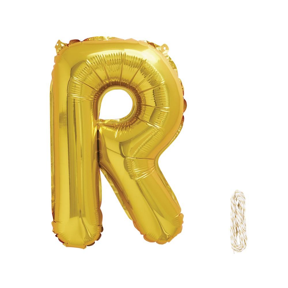 16 R Foil Balloon Gold - Spritz