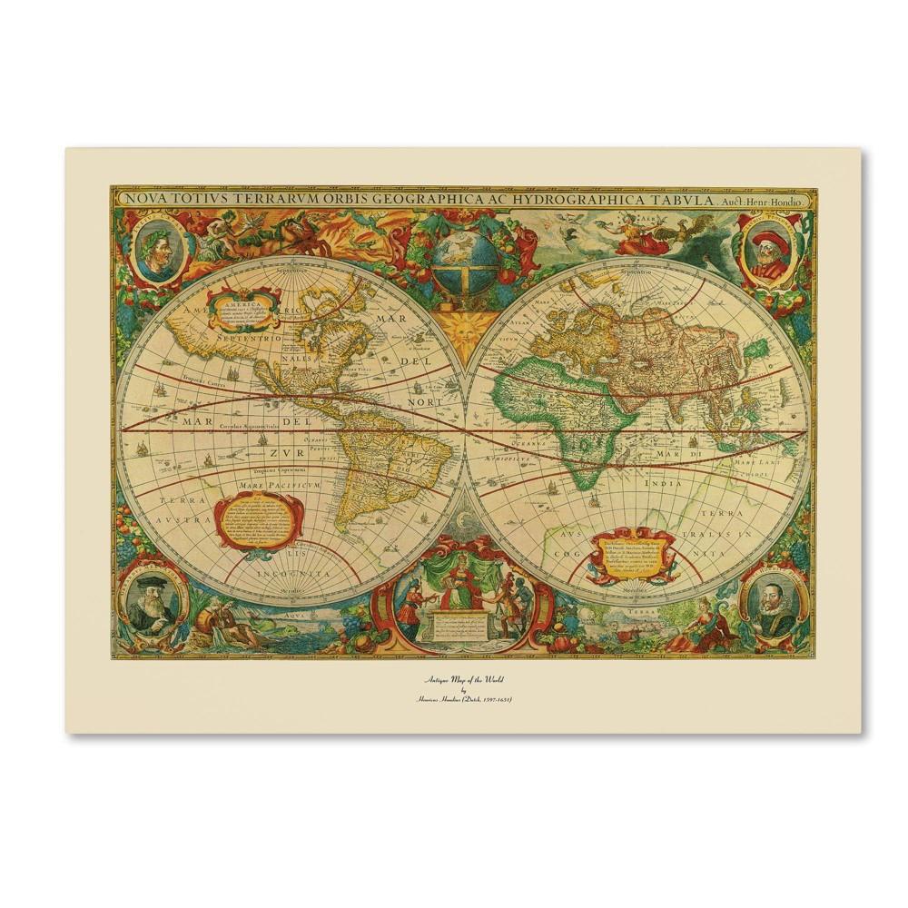 36 34 X 48 34 Old World Painting Trademark Fine Art