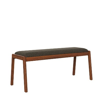 Millie Cherry Finish Armless Dining Bench - Handy Living
