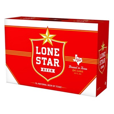 Lone Star Beer - 24pk/12 fl oz Cans