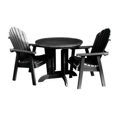 Hamilton 3pc Round Dining Set   Highwood