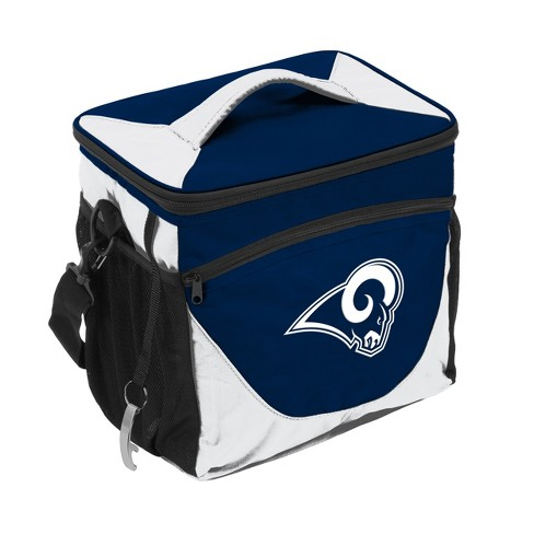 NFL Los Angeles Rams Navy/White 24 Can Cooler - image 1 of 1