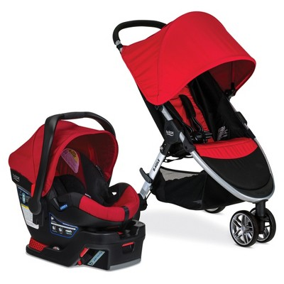 Britax® B-Agile & B-Safe 35 Travel System - Red