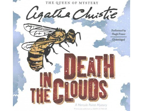 Death in the Clouds : Library Edition (Unabridged) (CD/Spoken Word) (Agatha Christie) - image 1 of 1