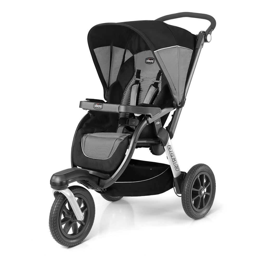 Image of Chicco Active Air Stroller Q Collection, Gray Black