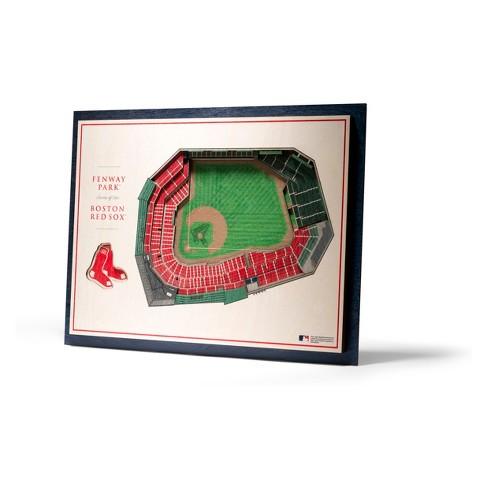 MLB Boston Red Sox 5-Layer Stadiumviews 3D Wall Art - image 1 of 4