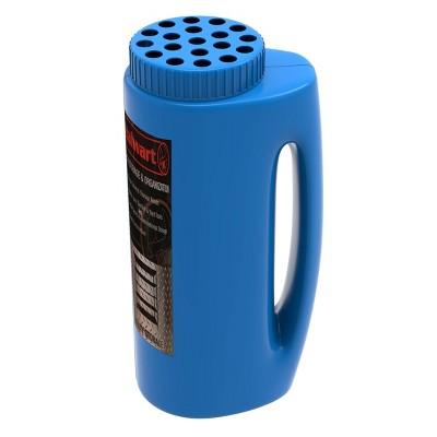 Stalwart Handheld Salt and Seed Spreader Blue