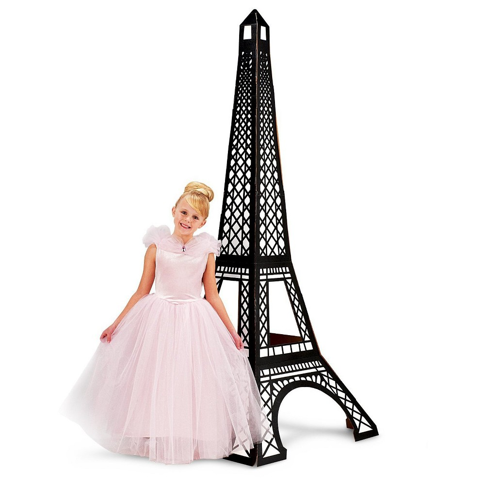 Image of Paris Damask (3D Eiffel Tower) Standup, Girl's, Black