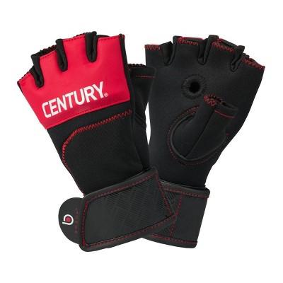 Century Martial Arts Men's Brave Gel Gloves L/XL - Red/Black