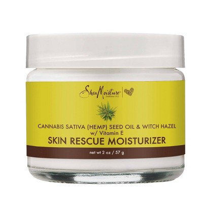 SheaMoisture Cannabis & Witch Hazel Skin Rescue Moisturizer - 2oz