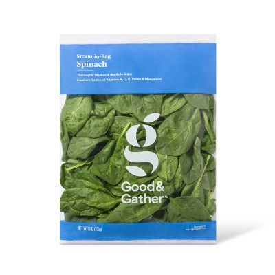 Steam-in-Bag Spinach - 9oz - Good & Gather™