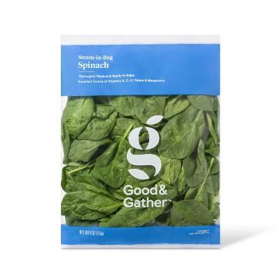 Steam-in-Bag Spinach - 9oz - Good & Gather™