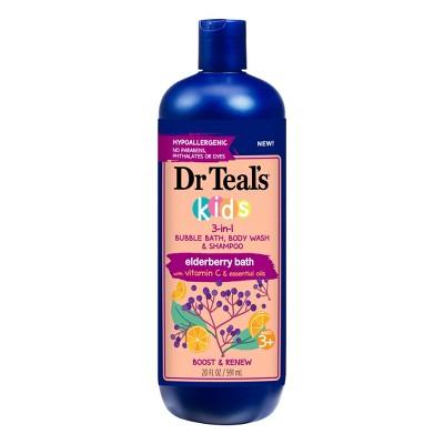 Dr.Teal's Kids Elderberry & Vitamin C 3-in-1 Body Wash - 20oz