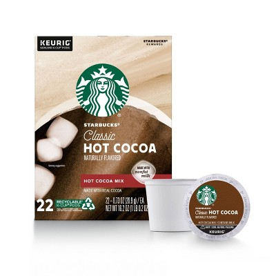 Starbucks Keurig K-Cup Classic Hot Cocoa - 22ct/16.2oz