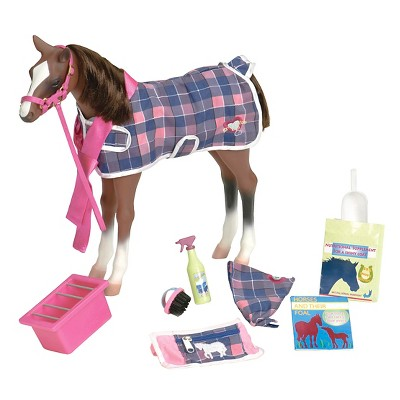"""Our Generation Quarter Horse Foal Accessory Set for 18"""" Dolls"""