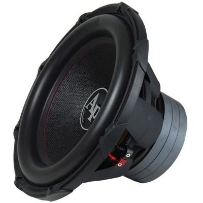 AudioPipe TXX-BDC3-15 15 Inch 2,400 Watt High Performance Powerful 4 Ohm DVC Vehicle Car Audio Subwoofer Speaker System, Black