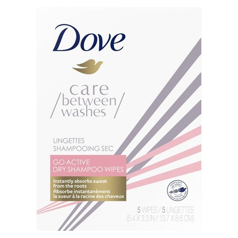 Dove Go Active Dry Shampoo Hair Wipes - 1oz - image 1 of 4