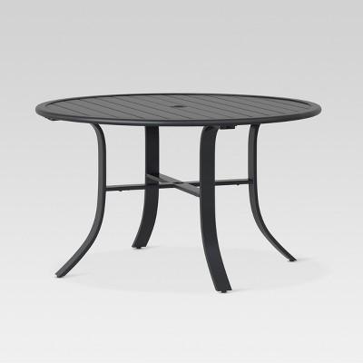 Camden 48  Round Patio Dining Table Black - Threshold™