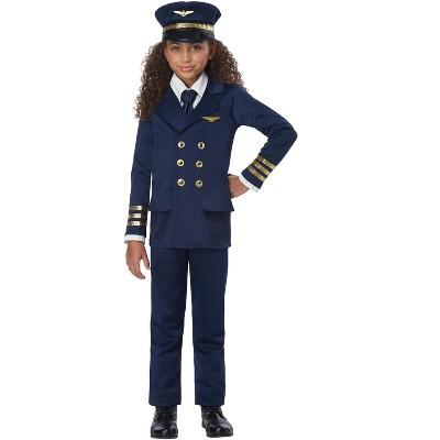 California Costumes Airplane Pilot Child Costume