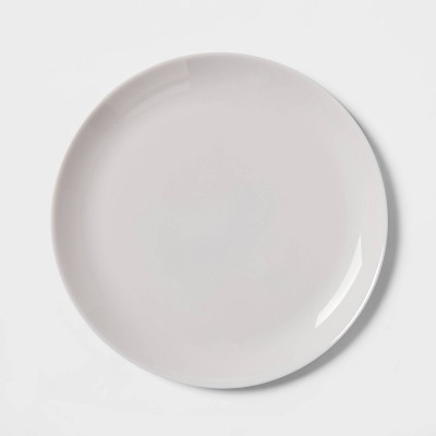 10.7  Glass Dinner Plate Gray - Made By Design™