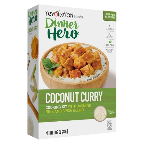 Revolution Foods Dinner Hero Cooking Kit Coconut Curry Chicken - 10.2oz - image 1 of 1