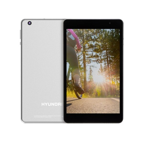 """Hyundai Koral 8W2 8"""" Tablet HD IPS, RK3326, 2GB, 16GB, Wifi, Silver, Android 9.0 Pie - image 1 of 4"""