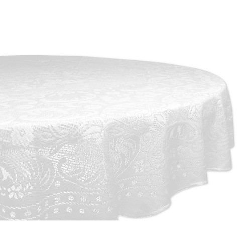 White Tablecloth - Design Imports - image 1 of 2