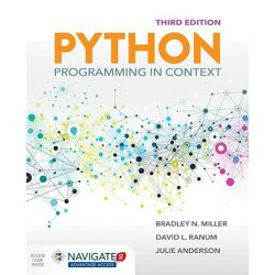 Python Programming in Context - 3 Edition by  Bradley N Miller & David L Ranum & Julie Anderson