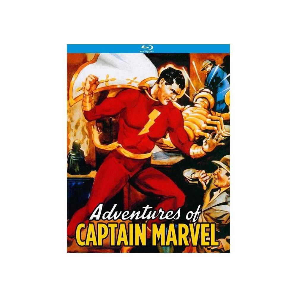 Adventures Of Captain Marvel Blu Ray