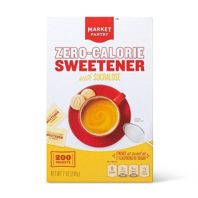 Zero-Calorie Sweetener with Sucralose-7oz/200pk - Market Pantry™