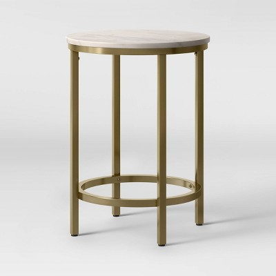 Greenwich Round Marble End Table - Threshold™