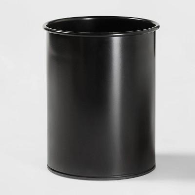 Stainless Steel Utensil Storage Container Black - Threshold™