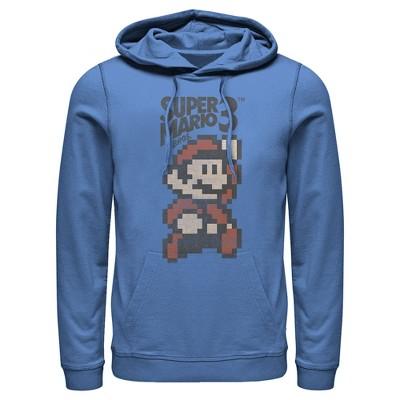 Men's Nintendo Super Mario Cartridge Cover Pull Over Hoodie