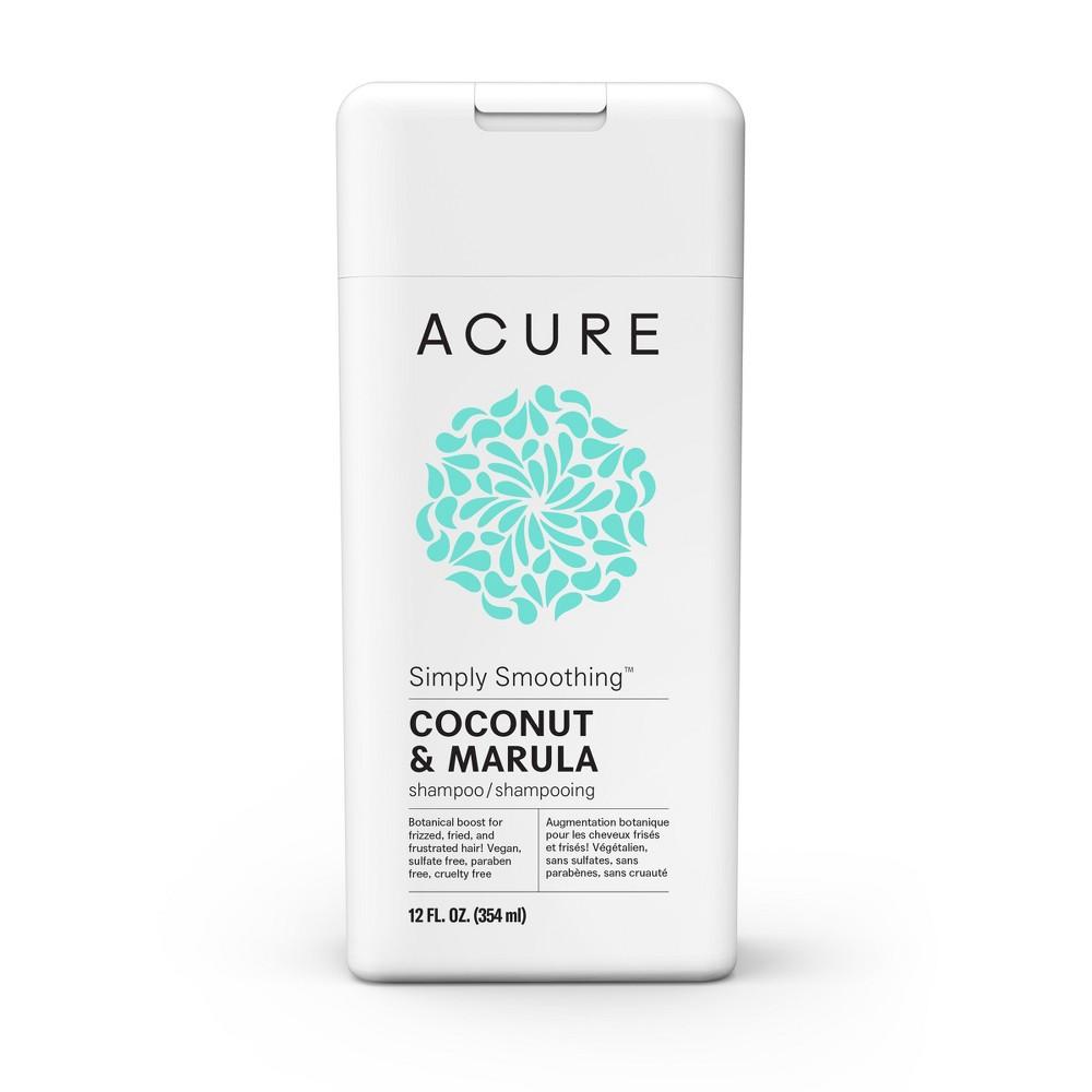 Image of Acure Simply Smoothing Coconut & Marula Shampoo - 12 fl oz