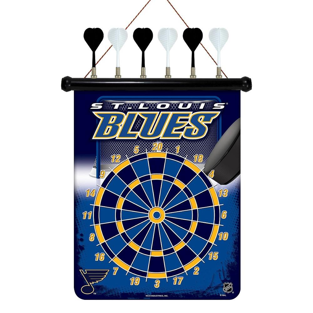 St. Louis Blues Magnetic Dart Set