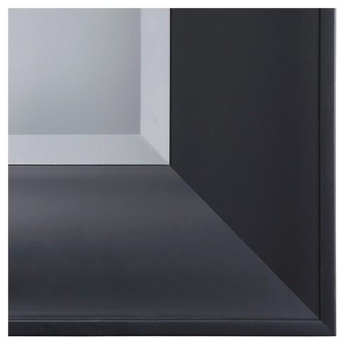 Rectangle Decorative Wall Mirror Black - Yosemite Home Decor : Target