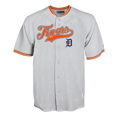 MLB Detroit Tigers Gray Retro Team Jersey - image 1 of 1