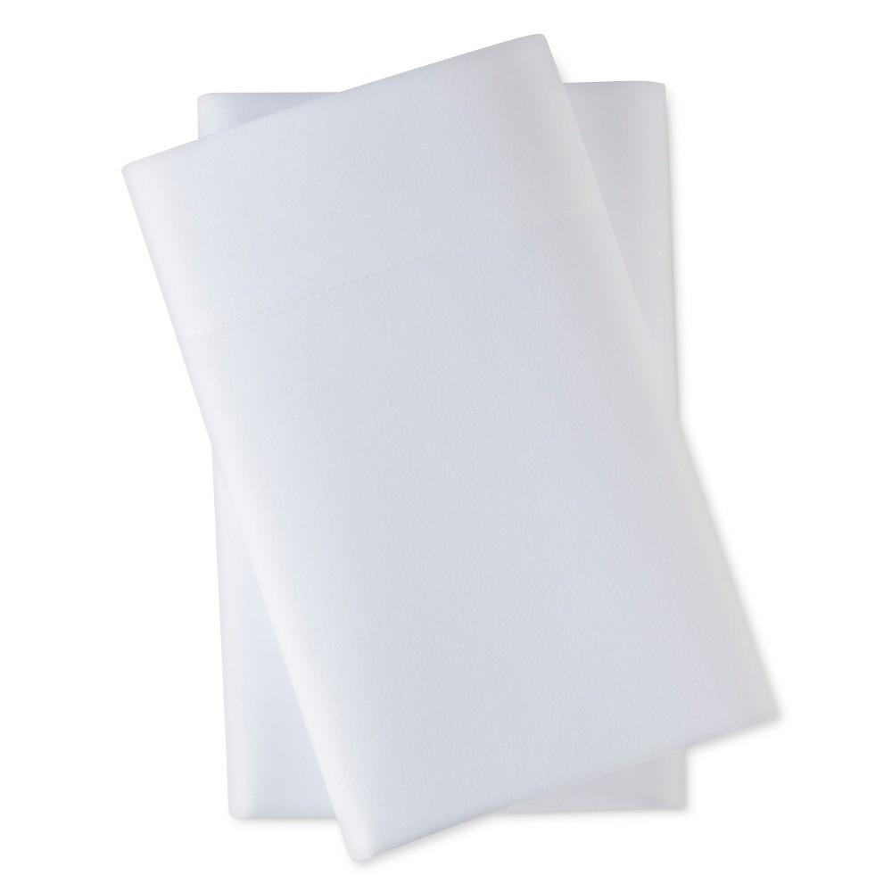 King Microfiber Pillowcase Set White - Room Essentials Price