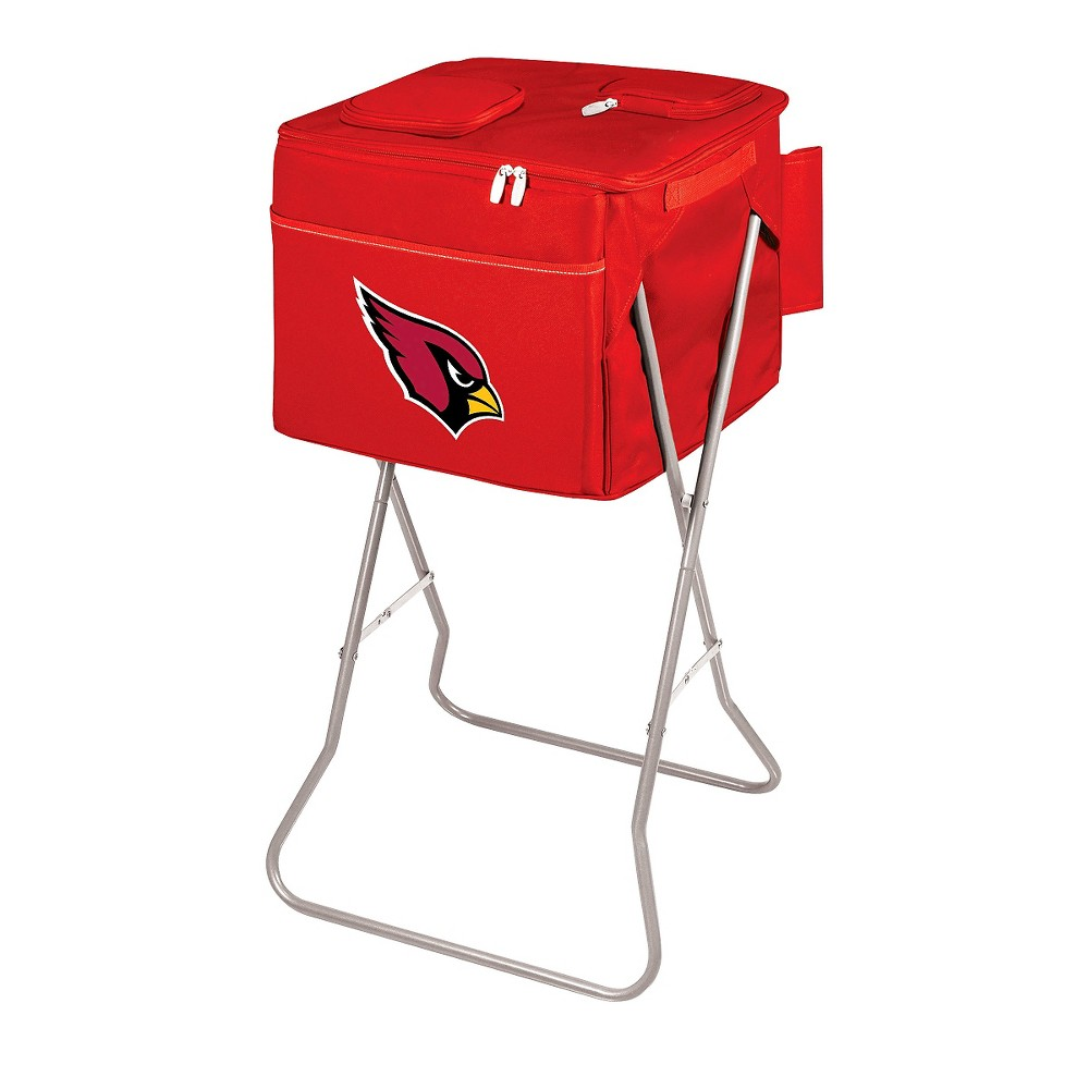 Arizona Cardinals - Party Cube Portable Standing Cooler by Picnic Time (Red)