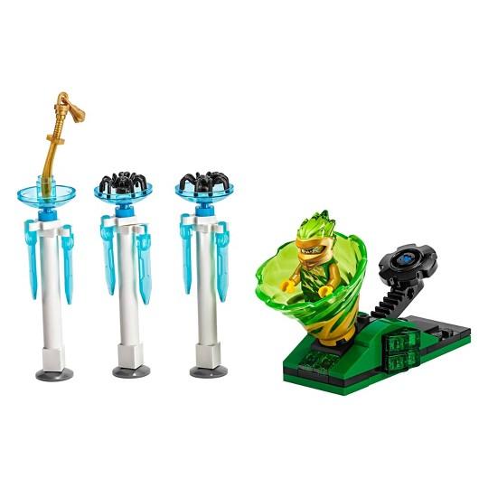 LEGO Ninjago Spinjitzu Slam - Lloyd 70681 Building Kit with Collectible Lloyd Minifigure 70pc image number null