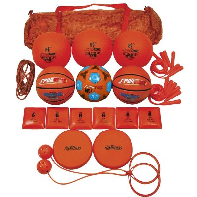 Sportime Recess pk, Orange, Grade 2, set of 19