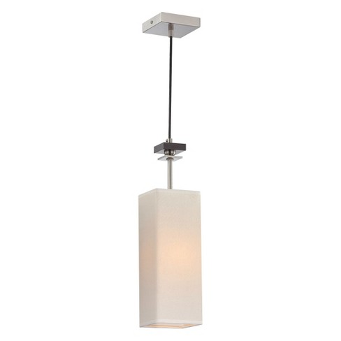 Lite Source Tomed Mini-pendant Ceiling Light - Silver - image 1 of 1