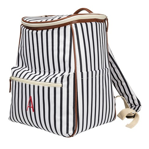 Cathy's Concepts Striped Backpack Cooler - image 1 of 7