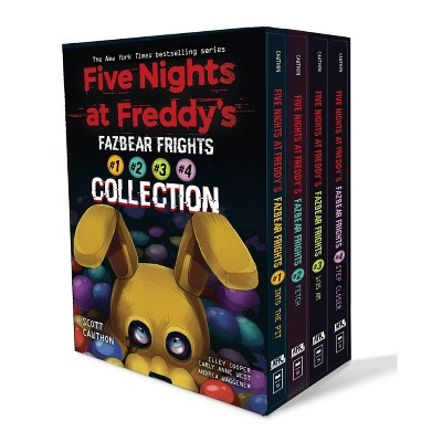 Five Nights at Freddy's Fazbear Frights Boxed Set - by Scott Cawthon (Paperback)