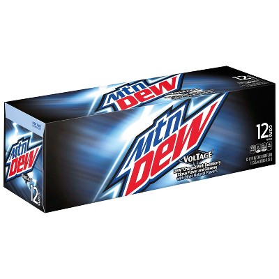 Mountain Dew Voltage Soda - 12pk/12 fl oz Cans