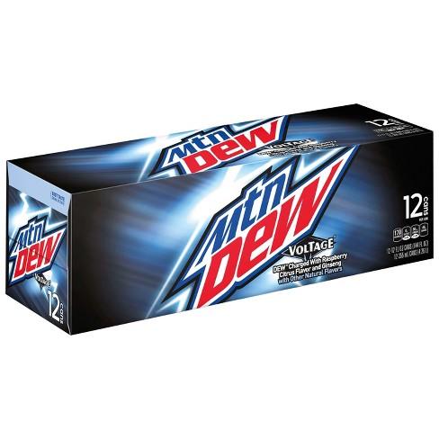 Mountain Dew Voltage Soda - 12pk/12 fl oz Cans - image 1 of 4